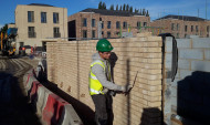 Working Brickaying