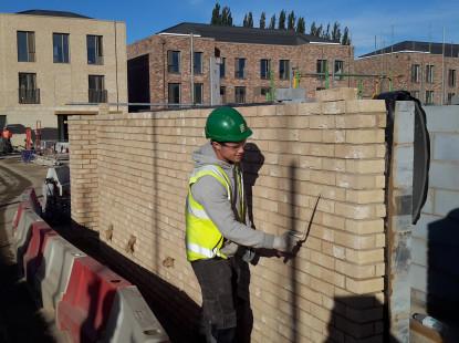 Working Brickaying